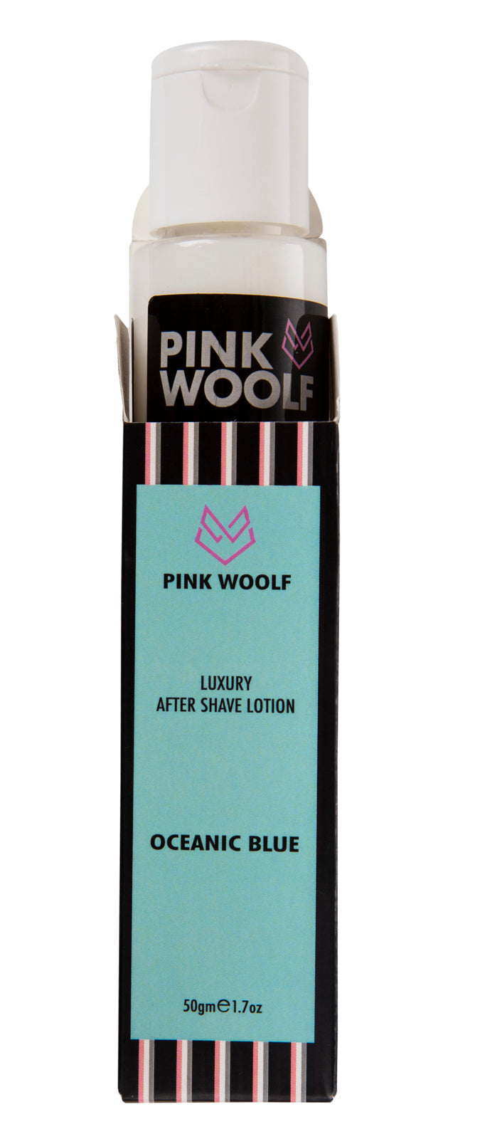 Pink Woolf After Shave Lotion Oceanic Blue