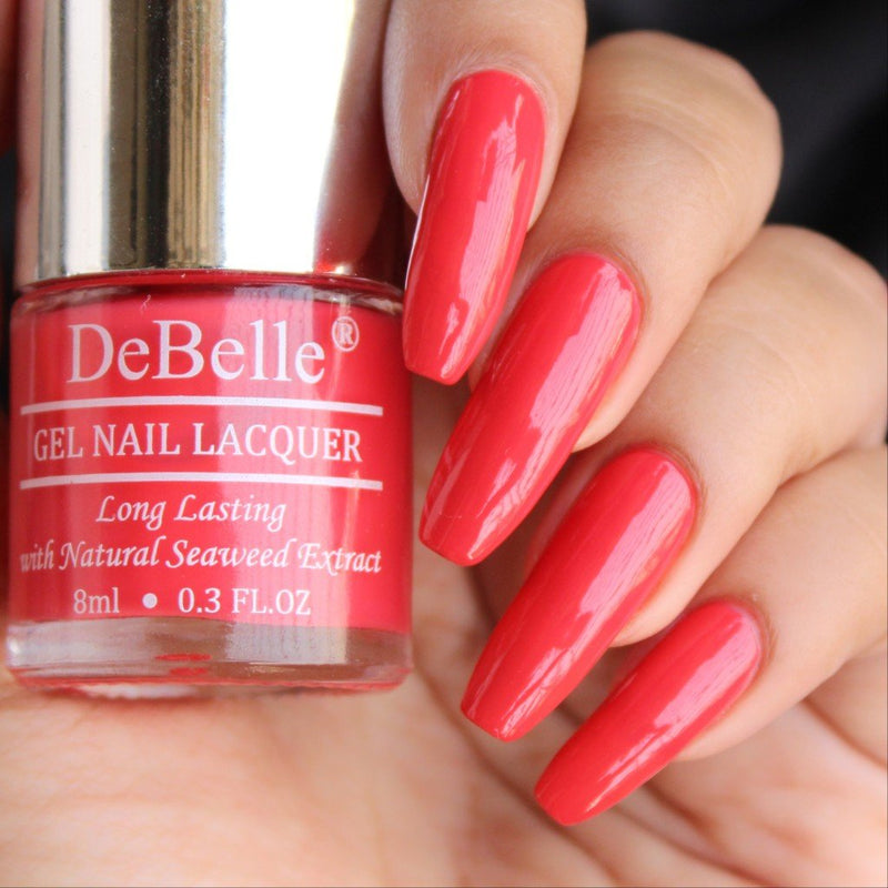 bright red nail polish shade in india
