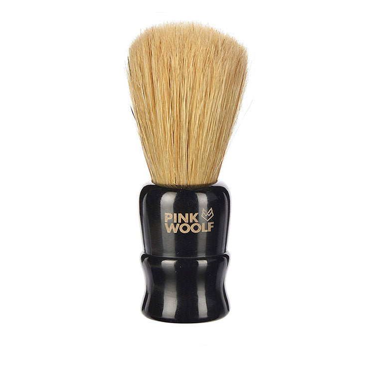 Pink Woolf Boar Shaving Brush