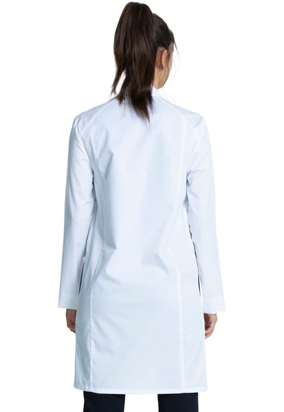 "38"" Unisex Lab Coat in White"