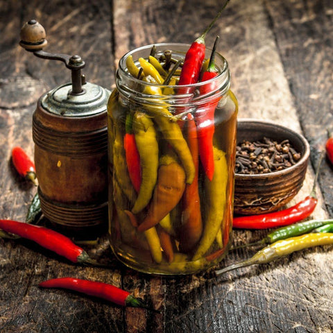 How to Pickle Chili Peppers - A Guide