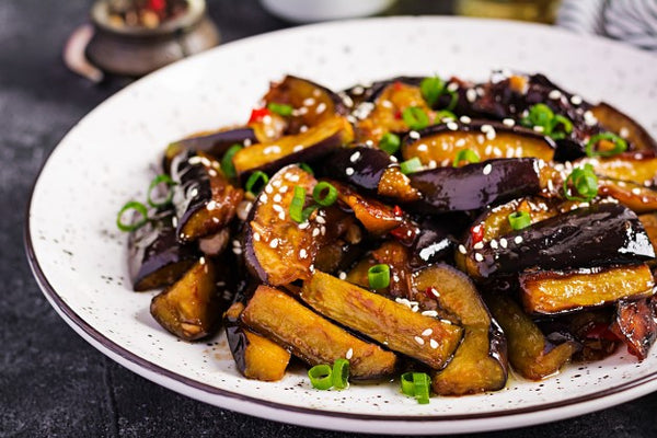 Eating Fried Eggplant Puree Protects Against Heart Disease