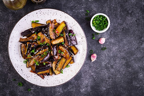 Fried Eggplant Is Including Many Rich Nutrients
