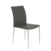 Classic Stackable Gray Guest or Conference Chair (Set of 4)
