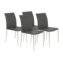 Load image into Gallery viewer, Classic Stackable Gray Guest or Conference Chair (Set of 4)