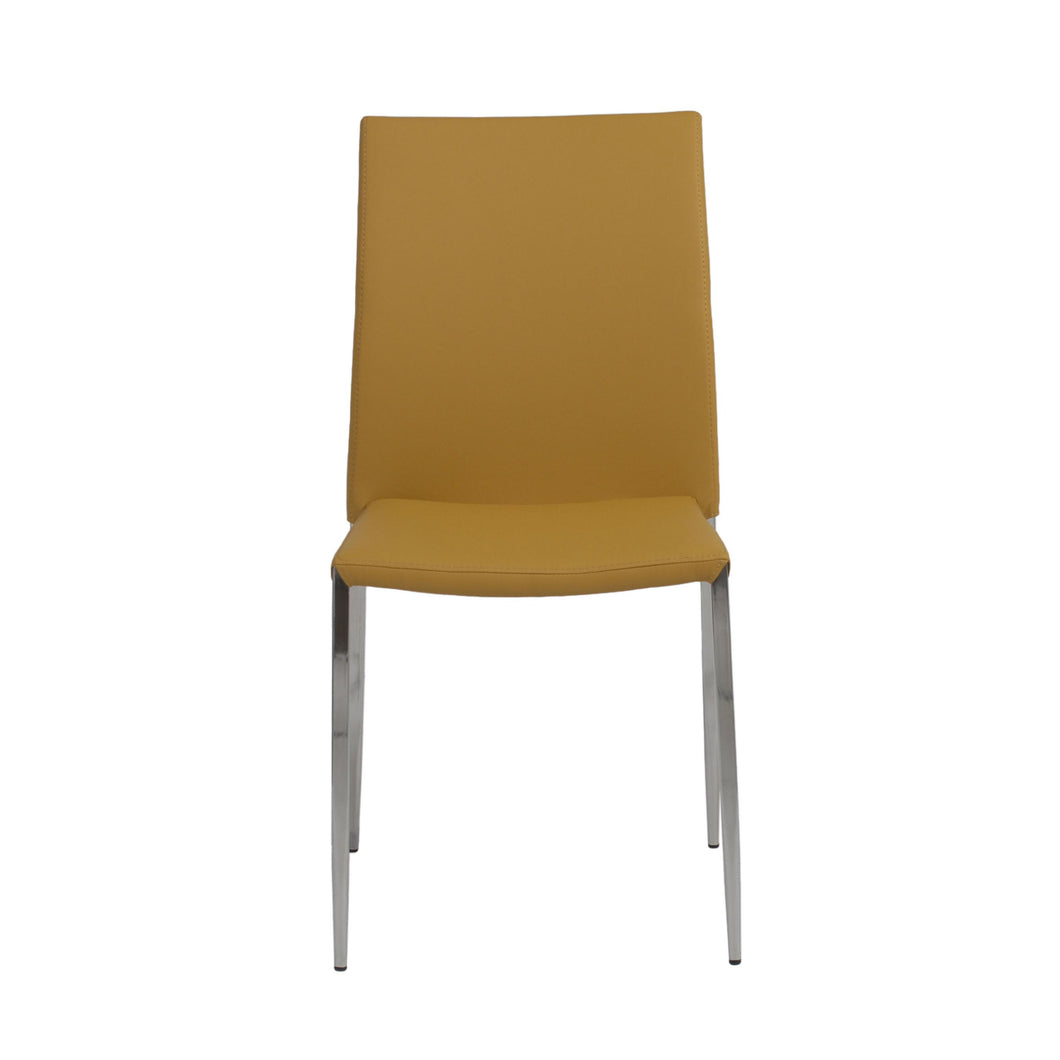 Classic Stackable Saffron Guest or Conference Chair (Set of 4)