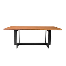 "Load image into Gallery viewer, 79"" Executive Desk or Meeting Table in American Walnut"