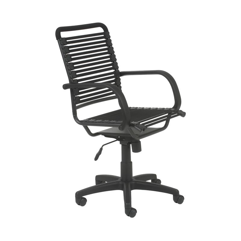 Bungee Comfortable Modern Chair with Black Supports