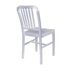 Striking Matte Aluminum Guest or Conference Chair