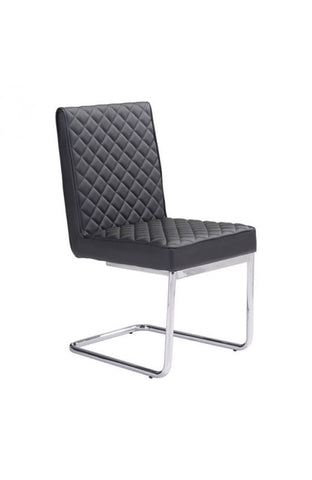 Modern Black Armless Guest / Conference Chair (SET OF TWO)