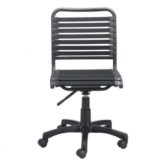 Mobile Black Bungee Office Chair