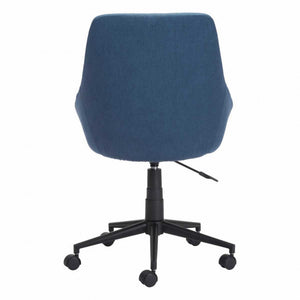 Sophisticated Blue Office Chair