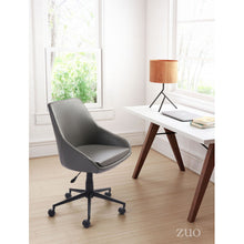 Load image into Gallery viewer, Sophisticated Gray Office Chair