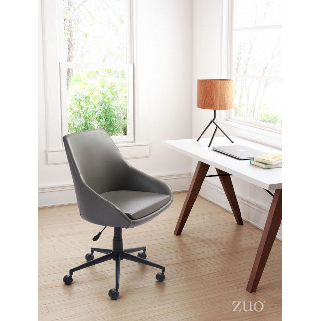 Sophisticated Gray Office Chair