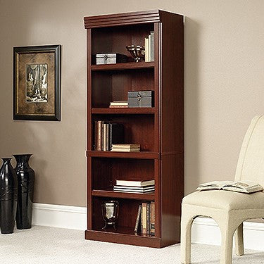 "71"" Bookcase in Classic Cherry Finish"
