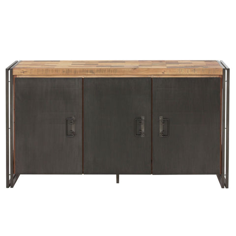 Recycled Mixed Hardwood Storage Credenza