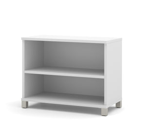 "71"" Modern Executive Office Desk in White"