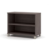 "71"" Modern Executive Office Desk in Bark Gray"