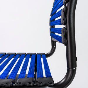 Bungee Armless Office / Conference Chair in Blue