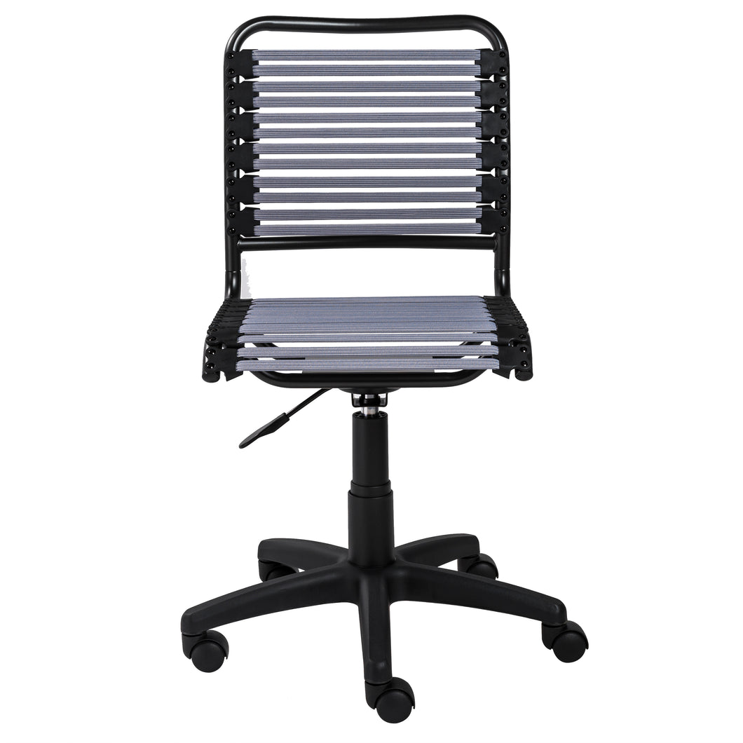 Bungee Armless Office / Conference Chair in Light Gray