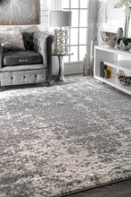 Load image into Gallery viewer, Thick Grey Distressed Rug (Multiple Sizes Available)