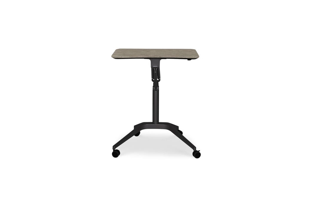 Sit-Stand Adjustable Office Desk in Gray