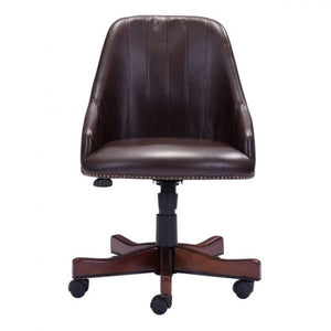 Gorgeous Dark Brown High-Back Executive Office Chair