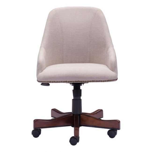 Gorgeous Cream High-Back Executive Office Chair