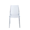 Sophisticated Transparent Guest or Conference Chair (Set of 4)