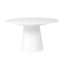 "Load image into Gallery viewer, 53"" Round Meeting Table in White Lacquer"