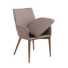 Modern Arm Guest or Conference Chair in Gray (Set of 2)