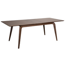 "Load image into Gallery viewer, 63""-83"" Extending Meeting Table with Solid Legs in American Walnut"
