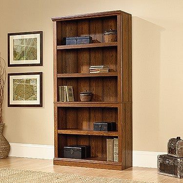 "Washington Cherry 70"" Five-Shelf Bookcase"