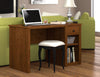 "Premium Tuscany Brown 47"" Computer Desk"