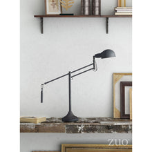 Load image into Gallery viewer, Classic Black Office Desk Lamp (Adjustable)