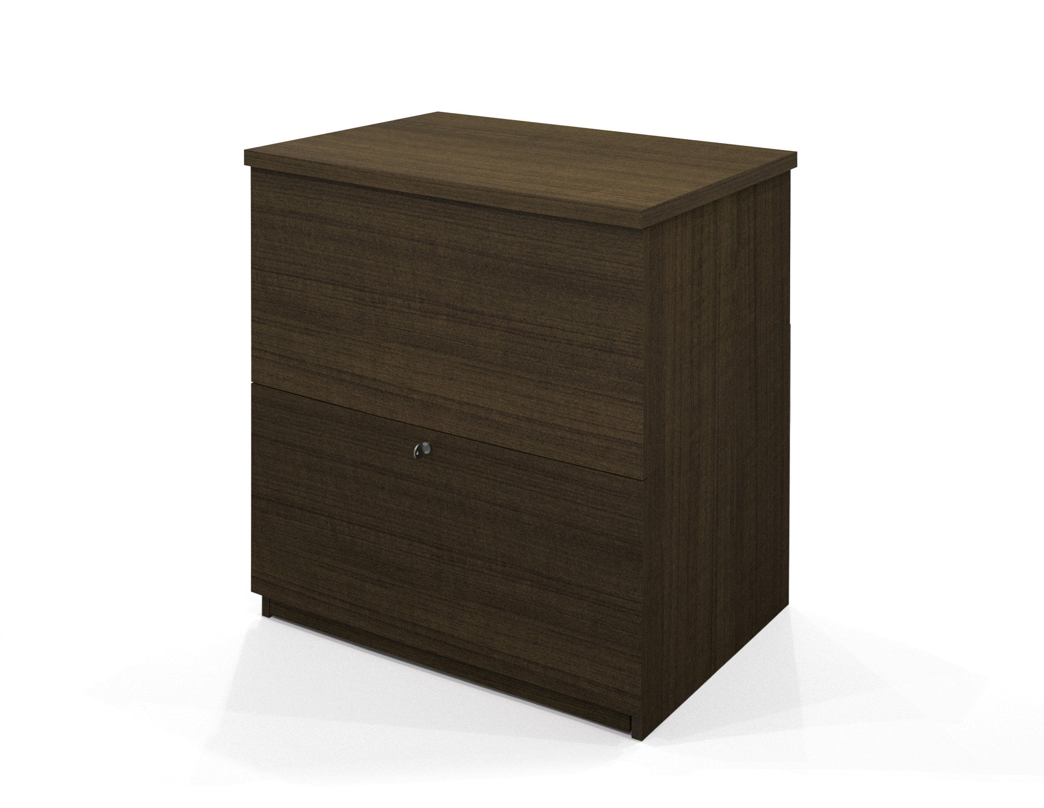 Premium Lateral File in Tuxedo Finish with Lock