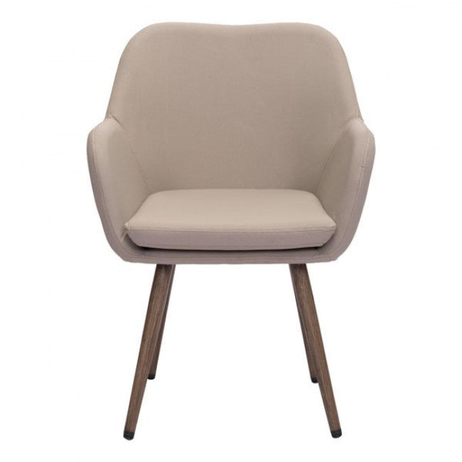 Padded Guest or Conference Chair in Classic Taupe