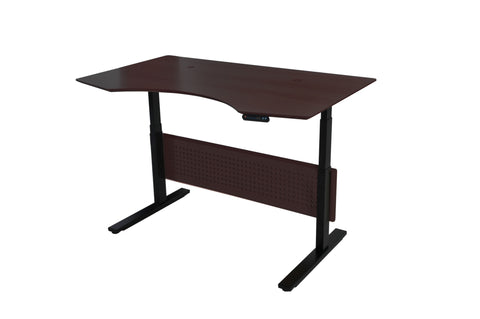 "Espresso 63"" Standing Desk with Motorized Height Adjustment"