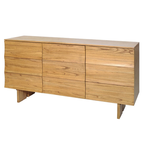Rustic Storage Credenza of Mindi Wood