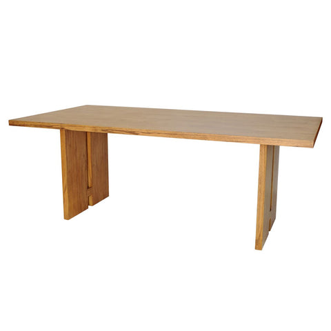 "79"" Rustic Mindi Wood Executive Desk or Conference Table"