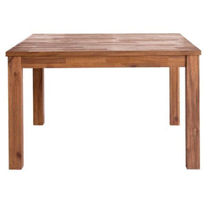 Solid Acacia Wood Square Meeting Table - 47""