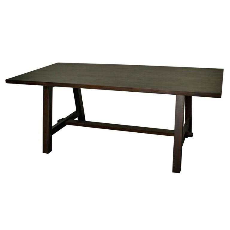 "78"" Executive Office Desk or Conference Table w/ Cocoa Glaze"