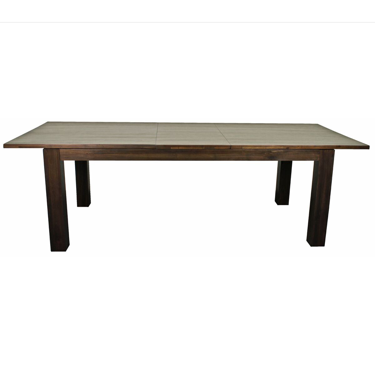 "Solid Acacia 78"" Executive Desk or Conference Table w/ Cocoa Glaze"