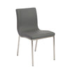 Classic Gray Guest or Conference Chair (Set of 2)