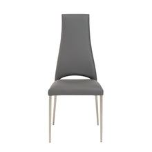 Load image into Gallery viewer, Elegant Gray Chimney-Style Guest or Conference Chair (Set of 4)