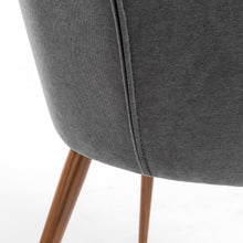 Load image into Gallery viewer, Set of 2 Gray Guest or Conference Chairs w/ Stitched Pattern