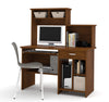 Active Collection Workstation with Hutch in Tuscany Brown