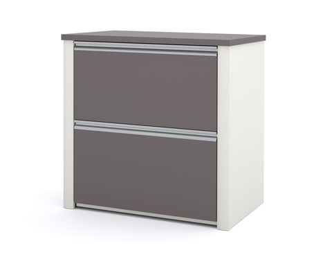 "Connexion Premium 30"" Lateral File in Slate & Sandstone"