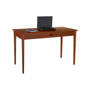 Cherry Wood Desk with Solid  Wood Legs and Drawer
