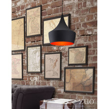 Load image into Gallery viewer, Stunning Ceiling Lamp in Black & Copper